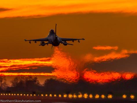2021 RNLAF sunset flying