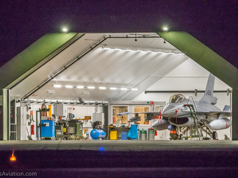 2020 Night flying @Leeuwarden Airbase