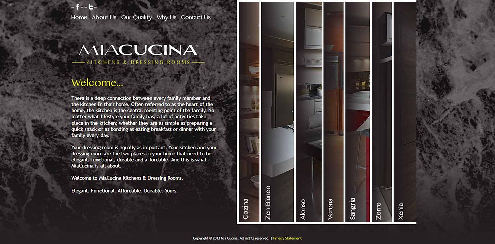 MiaCucina Kitchens & Dressing Rooms