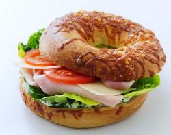 Ham Bagel