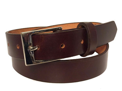 Leather Belt - Chocolate Brown