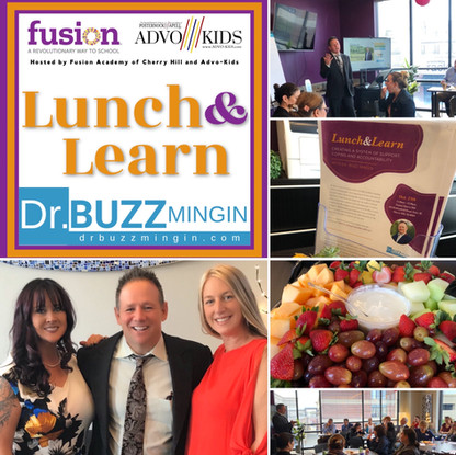 Lunch & Learn with Dr. Buzz Mingin