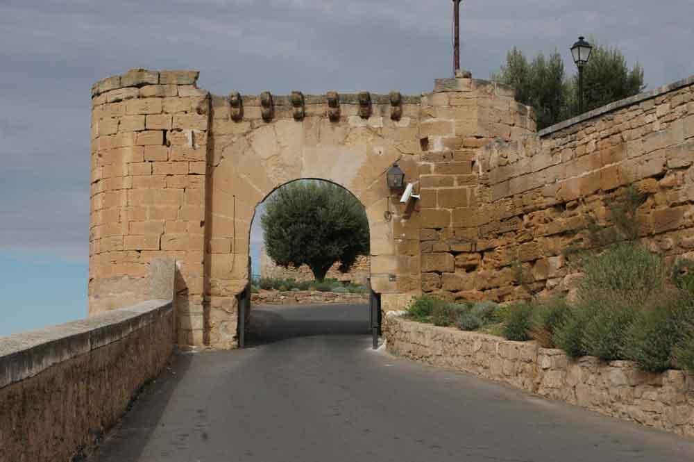 31 - Teruel - Alcaniz, castillo de los Calatravos y Parador