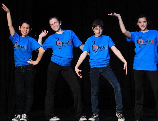 Glee Camp Jr - Ages 6-10 - M-F  2-4pm