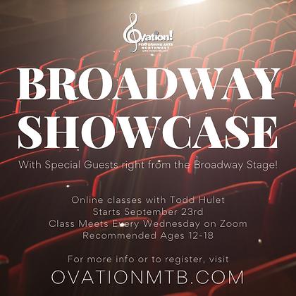 Broadway Showcase- Registration