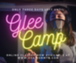 Glee Camp _ThreeDays_FBPost.png