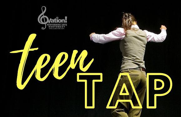 Teen Tap - Zoom Class - December 1st