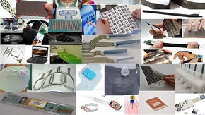 Printed, Flexible, and/or Stretchable Sensors