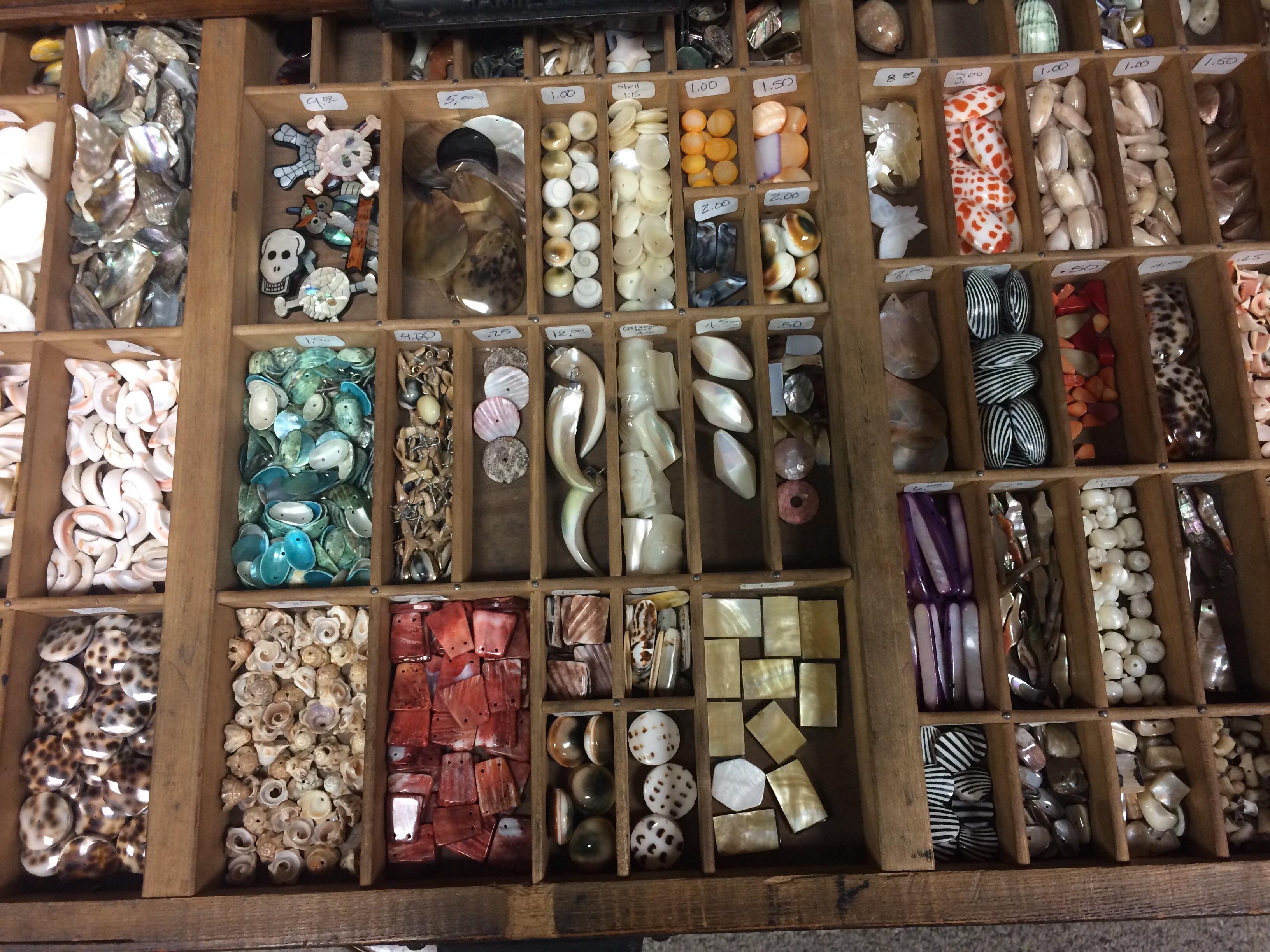 Thousands of loose beads