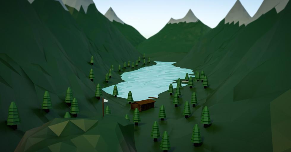Final Low Poly Mountain Range.jpg