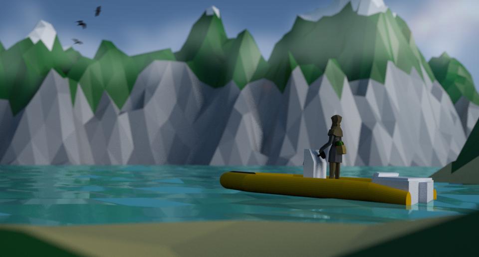 Mountain Range Lake Scene3.png