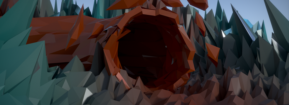 Final Hd Low Poly Cave.png