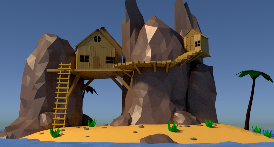 Rock Island Low Poly1.png