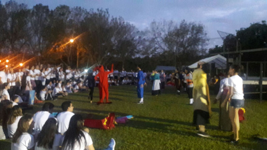 Relevo por la Vida, Academia Inmaculada Concepción de Mayagüez