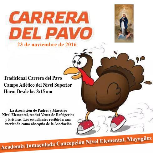Tradicional Carrera del Pavo