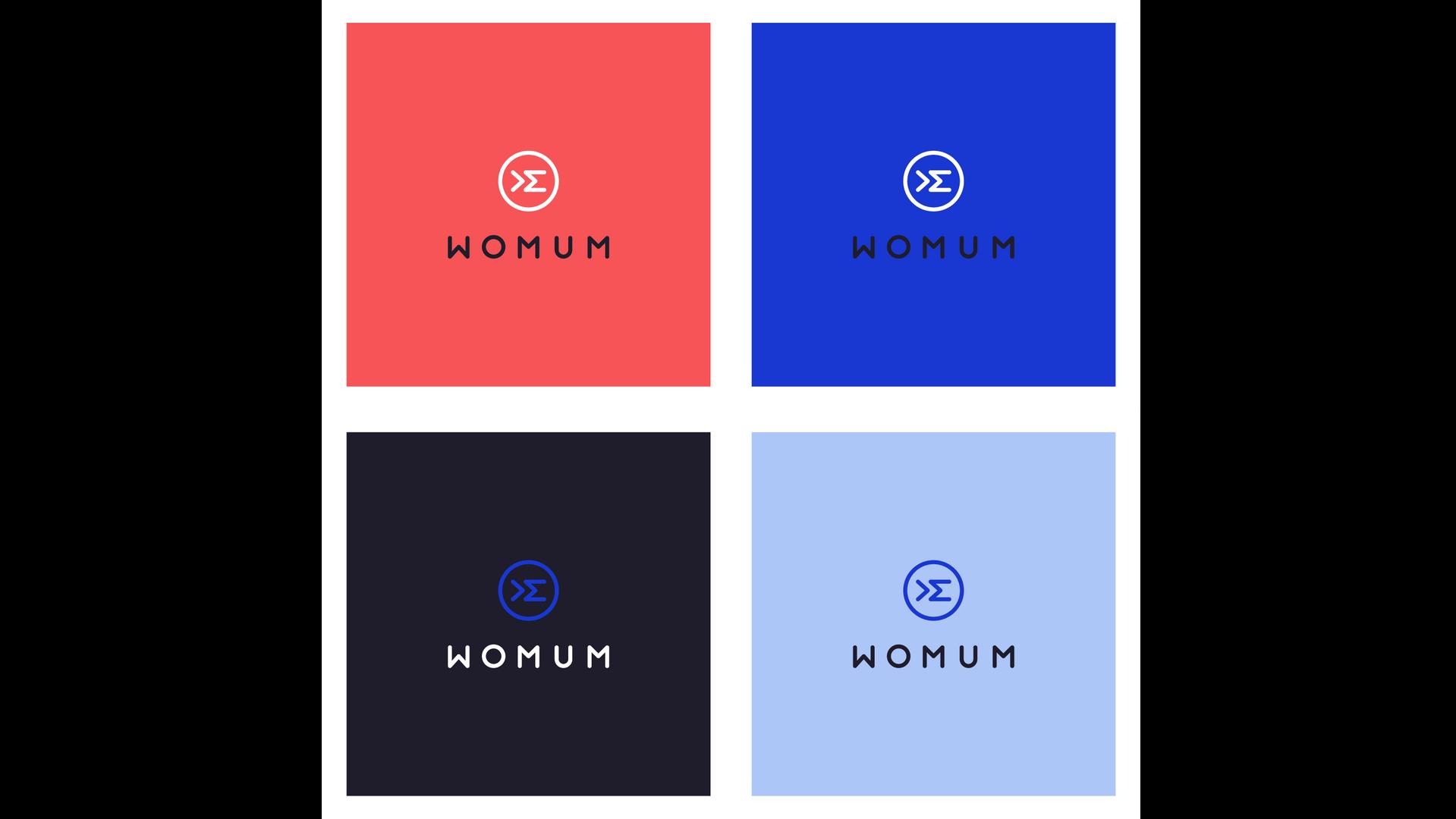 logo womum