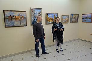 Выставка Дмитрия Котунова в ЦБС