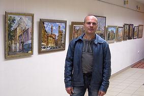 Выставка Дмитрия Котунова в библиотеке им. Рубцова