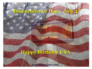 Independence Day - 4th of July....