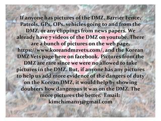 DMZ Photos/Info