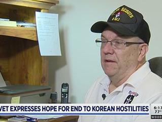 TV News Interview with DMZ Vet, Doug Voss