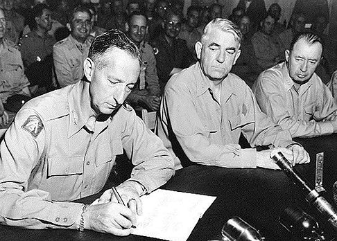 1953 Clark Signs Truce.jpg