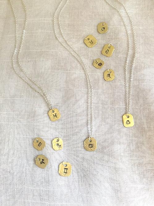 Tiniest Zodiac necklaces