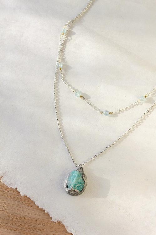 Amazonite Layered Necklace
