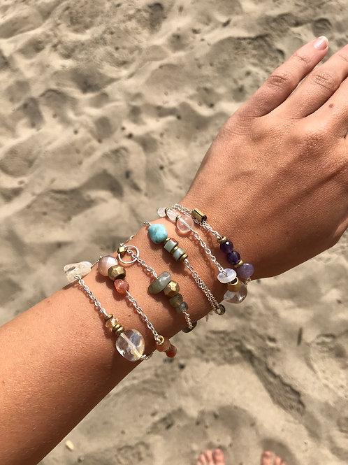 Gemstone Charm Bracelets