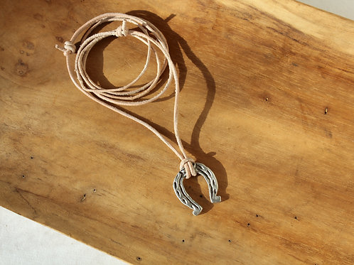 Little bit of Luck Leather necklace