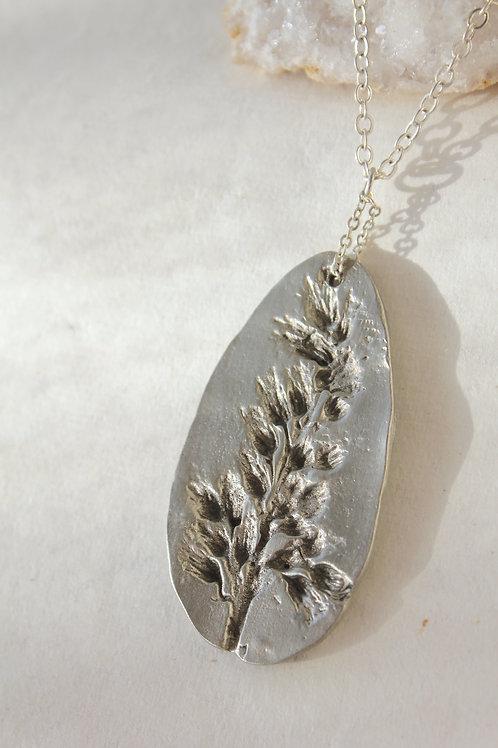 Goldenrod Imprint Necklace