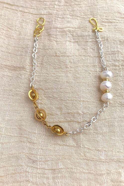 /SHIFT/ Pearl Planetary Bracelet
