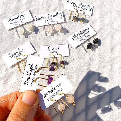 Minimal Threader Earrings
