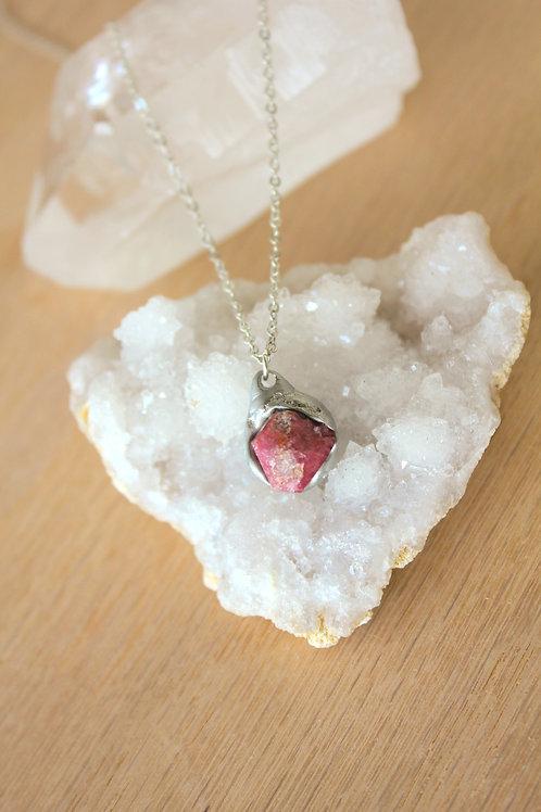Raspberry Garnet Necklace