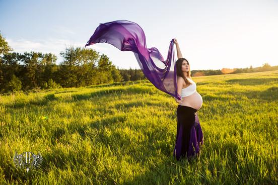 Goddess Session Maternity Calgary