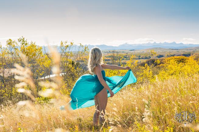 Goddess Outdoor Boudoir Calgary