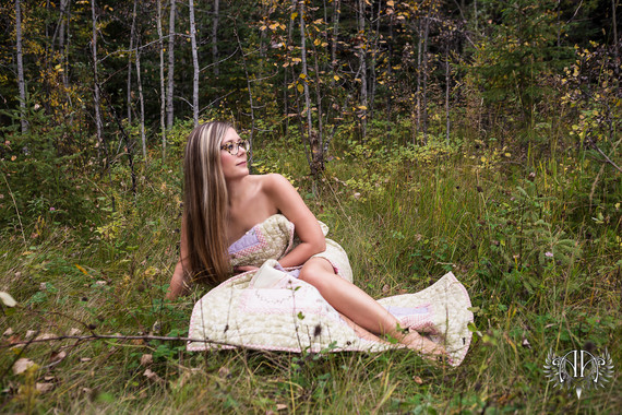 Goddess Outdoor Boudoir Alberta