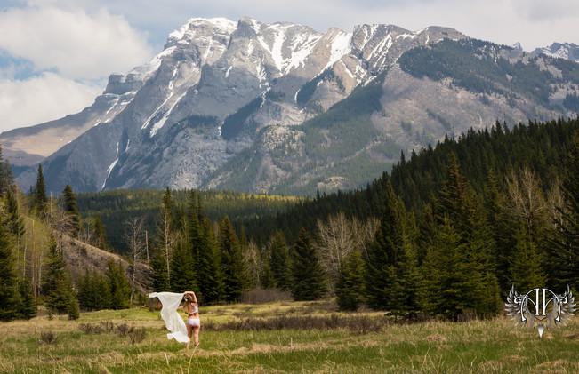 May 2019 Warrior & Goddess Session Outdoor Boudoir Calgary