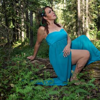 Goddess Session Outdoor Boudoir Calgary