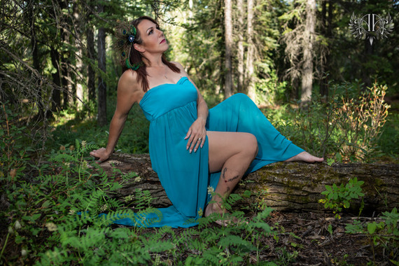 Goddess Session Outdoor Boudoir Calgary