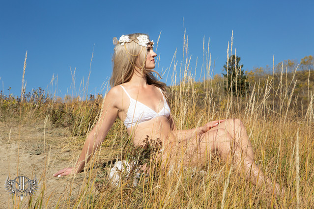 Goddess Outdoor Boudoir Alberta