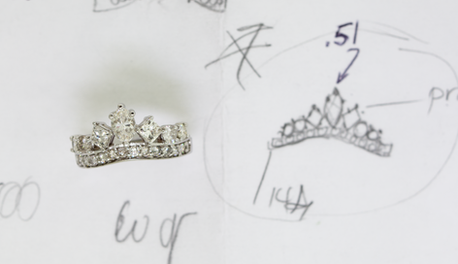Custom Tiara Ring
