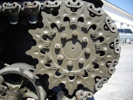 Sherman Tank Sprocket
