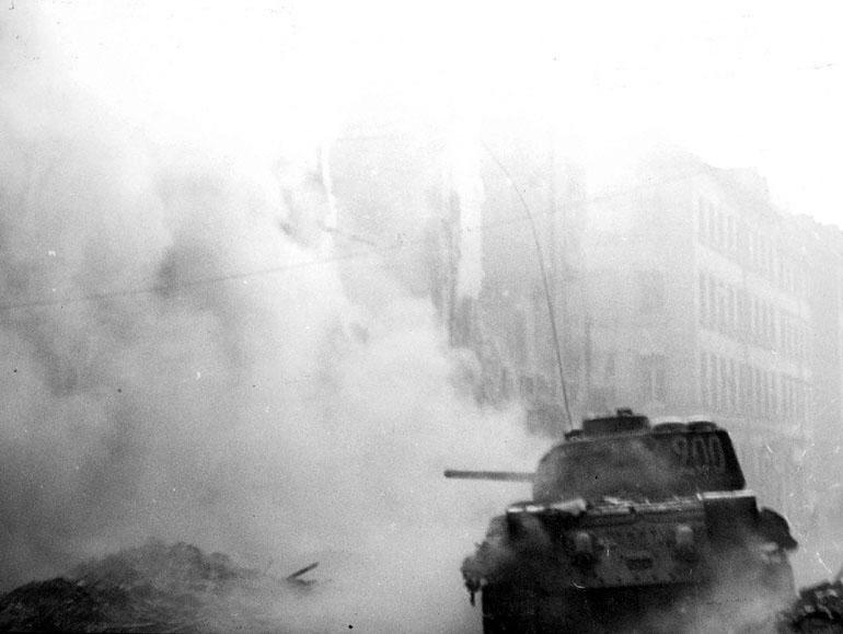 WWII Tank Battle