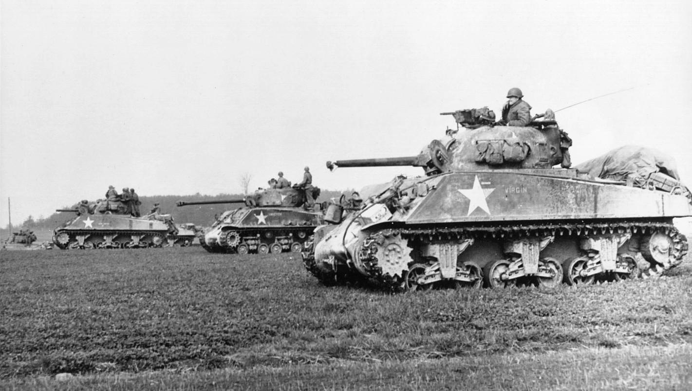 M4-Sherman Tank - WWII European Theatre
