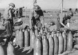 8-Inch Shells - Australian Heavy Artillery Men - 17-October-1917
