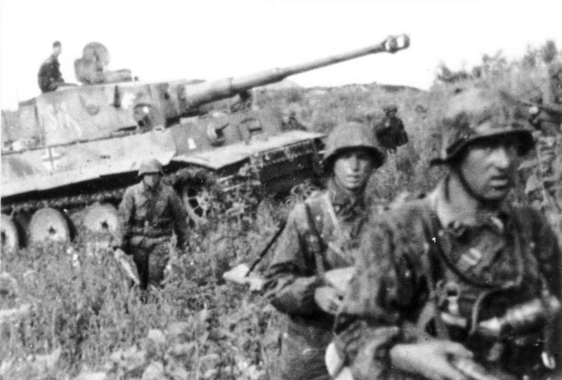 Battle of Kursk- Panzer-VI - Tiger I