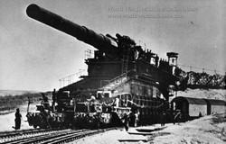 "800mm (31.5 inch) German Artillery ""Dora"""