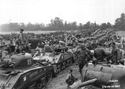 WWII Tank Convoy