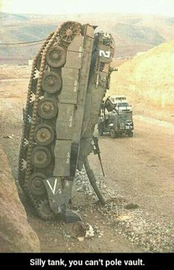 Tank Accident - Vertical Position